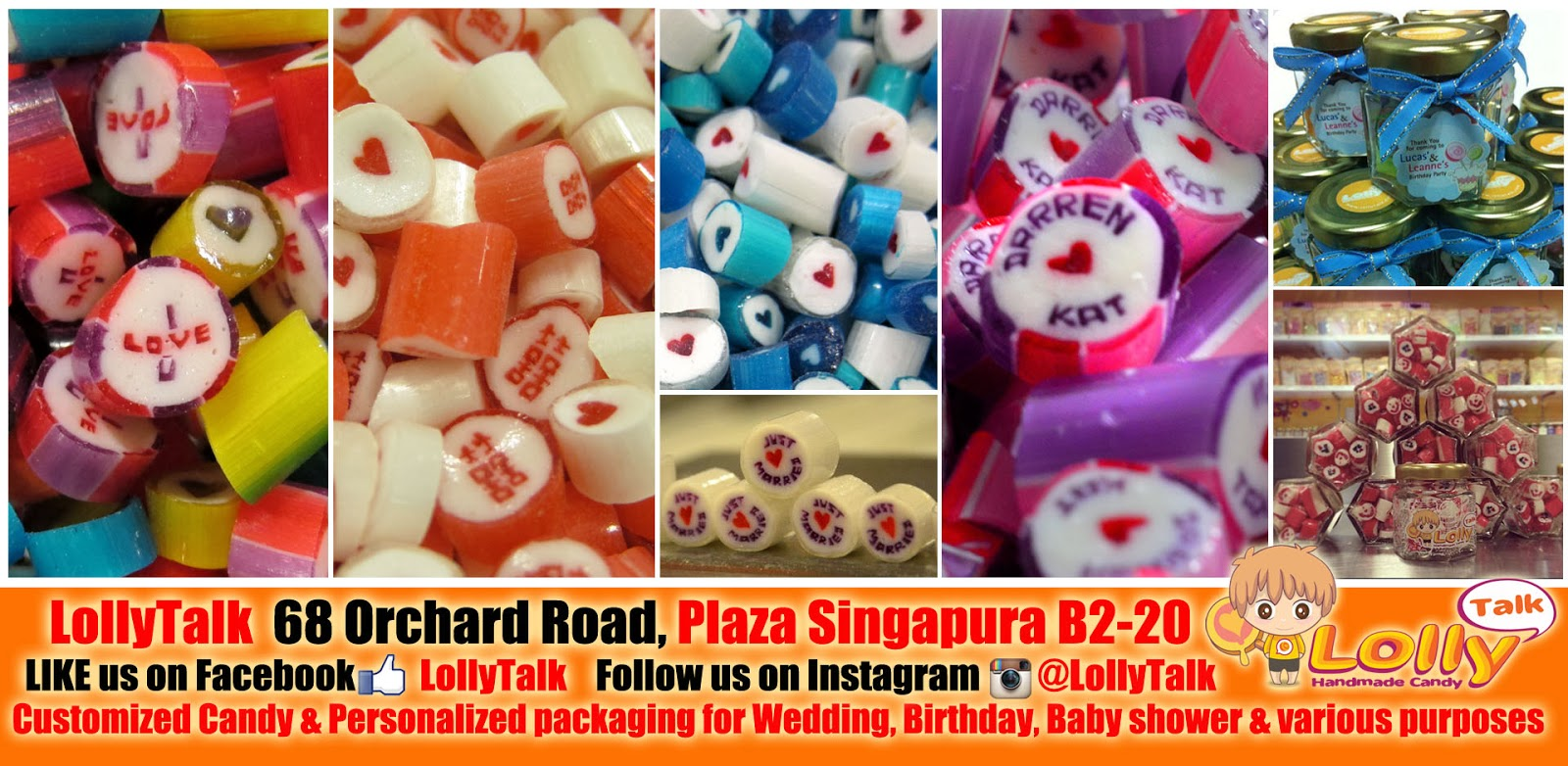 Customized Rock Candy for various events and various occasions...