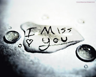 I Miss You Love Wallpaper