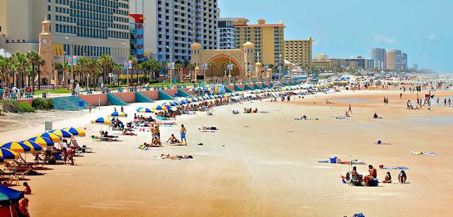 Melhores praias da Flórida - Daytona Beach
