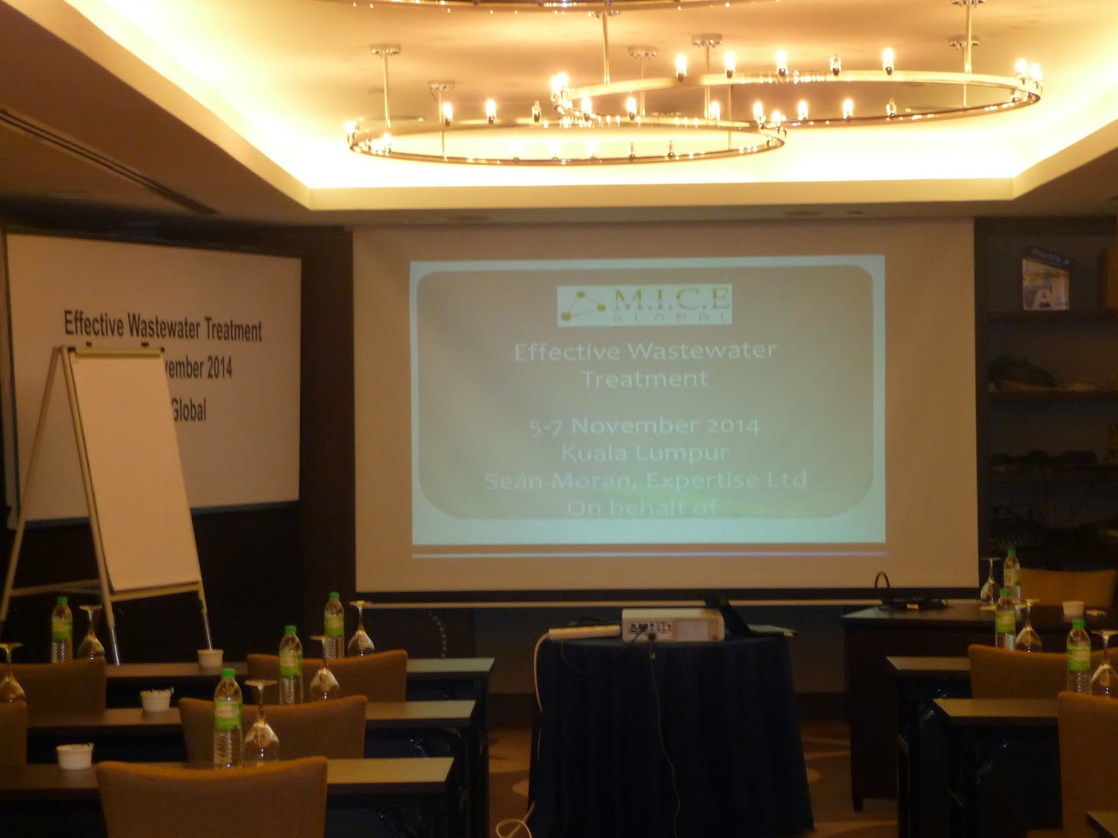 Room set up for Water Treatment Course Kuala Lumpur Malaysia
