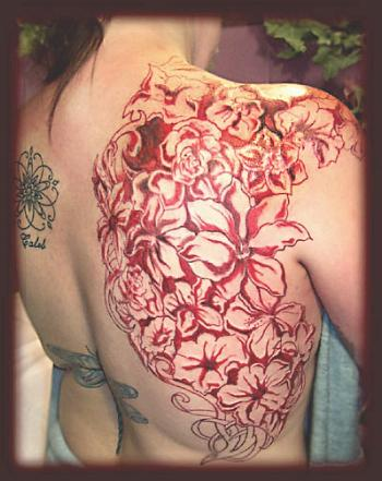 Flower Tattoo Picture on List Tattoo Design  Flower Tattoos Pictures