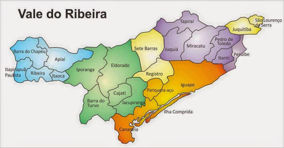 A História da Região do Vale do Ribeira