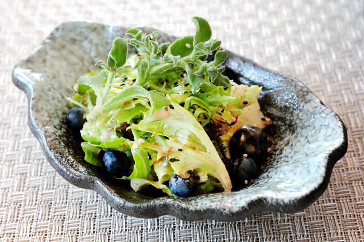 龍鮨处職人すし日本料理-和風蔬菜沙拉