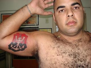 Tatuagens flamengo no braço