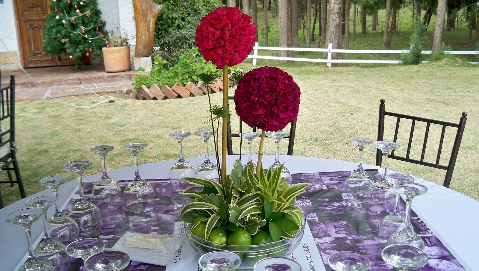 Decoraci n floral aura rosa camacho matrimonio dos - Camacho decoracion ...
