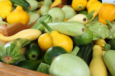 farmer's market squash