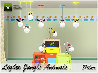 15-03-12 Lamparas animales de la selva