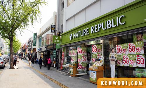 seoul itaewon street