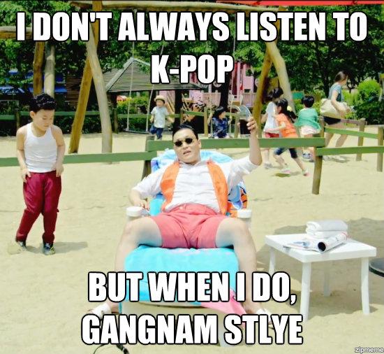 Ape pulak pendapat korang pasal Gangnam Style ni?Share la sama =)