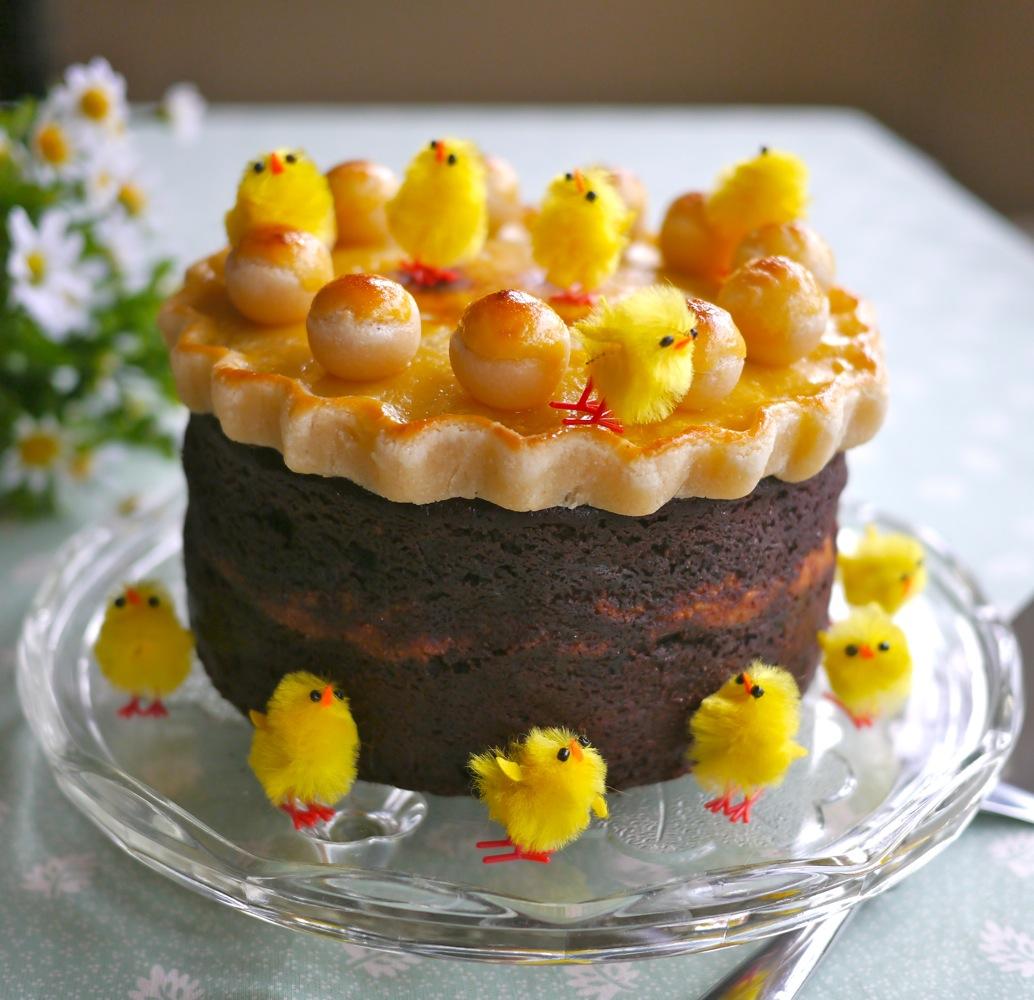 Victoria's Cake Boutique: Chocolate Simnel Cake (gluten ...