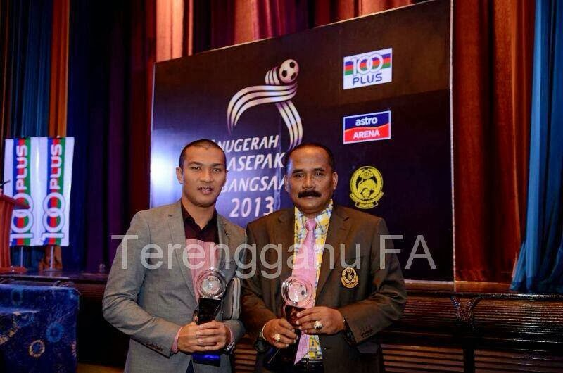 PERSATUAN Persatuan Bola Sepak Negeri Terengganu (PBSNT) memberi