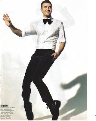 Justin Timberlake bow tie