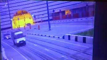 В Сочи авто упала с 20-ти метровой высоты