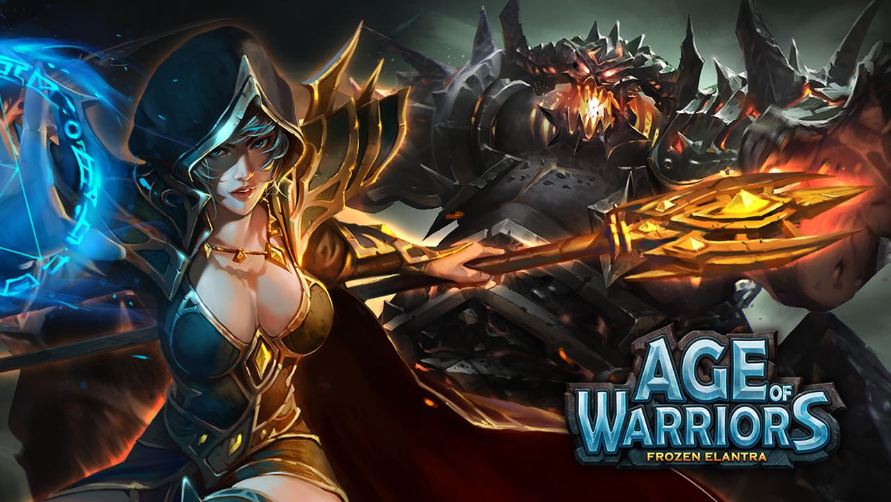 Age of Warriors - Warlords of Elantra Gameplay IOS / Android
