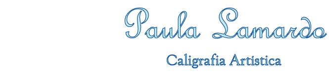 Paula Lamardo - Caligrafia Artística