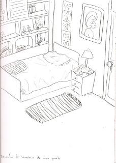 Desenho como desenhar decoração quarto pronto pintar e colorir