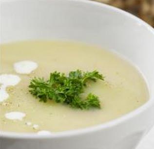 Sopa de feijão-branco light