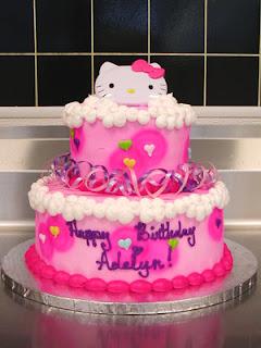 Beautiful Hello Kitty Birthday Cake