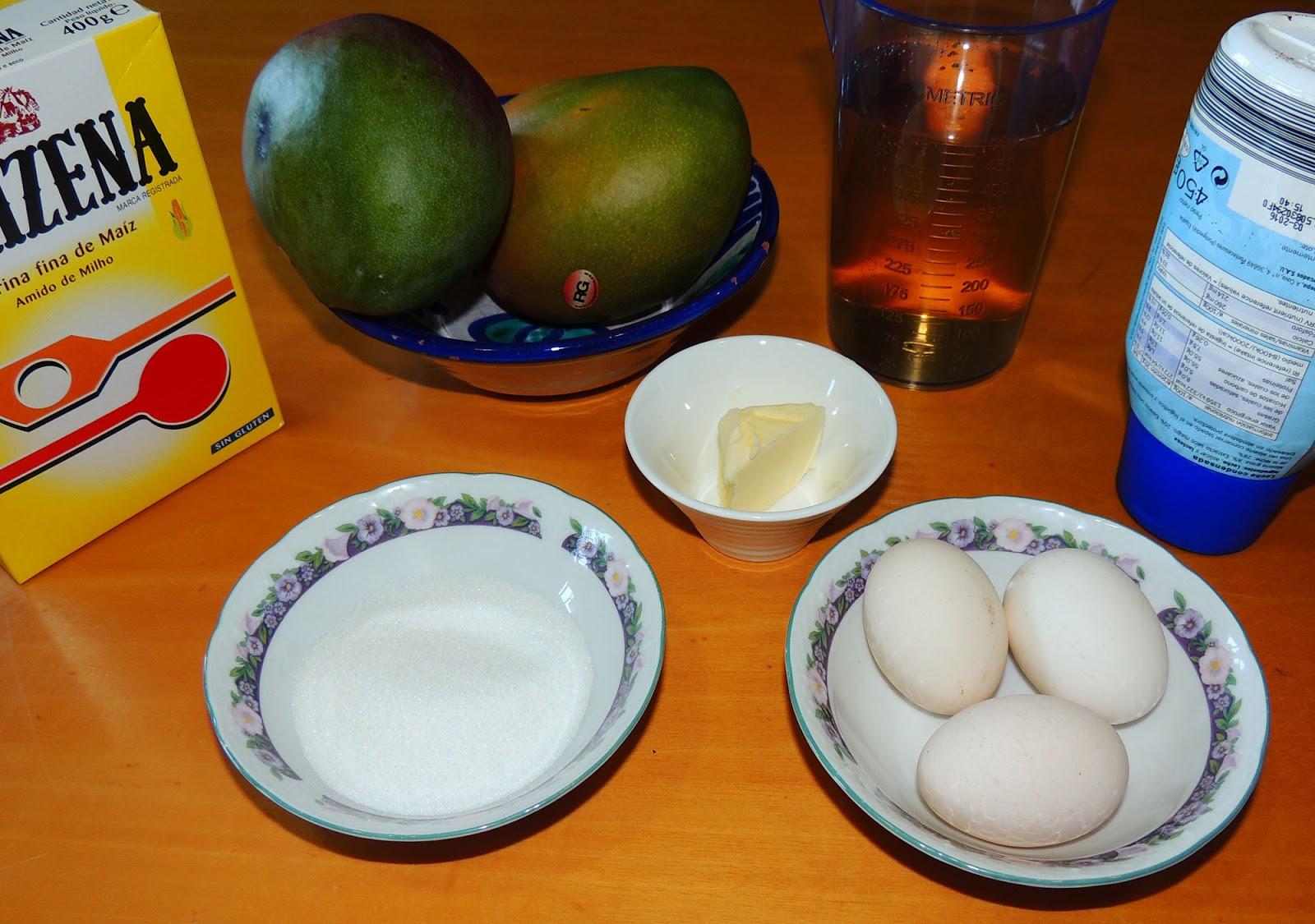 Cocinando en altorreal flanes de mango for Cocinar con mango