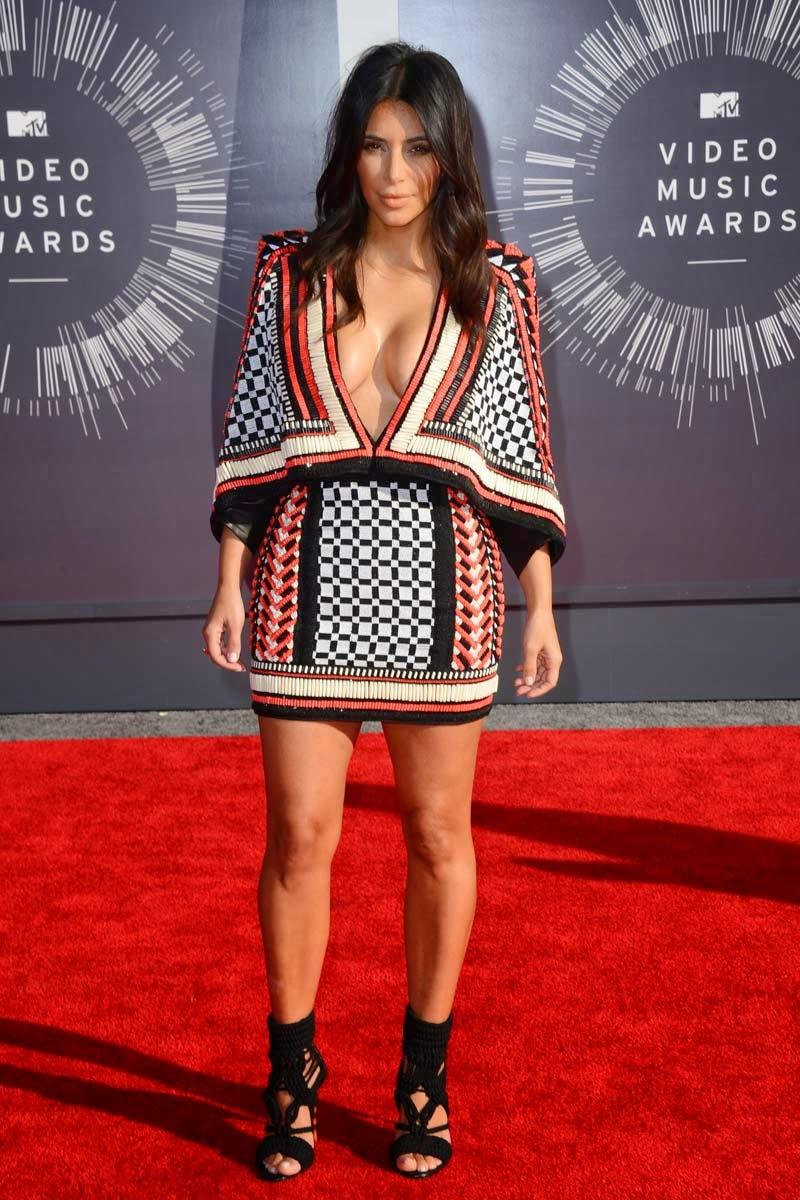 Kim Kardashian MTV MVA 2014