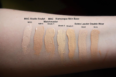 Base 4, Estee Lauder Double Wear Shell, Estee Lauder Double Wear Ecru