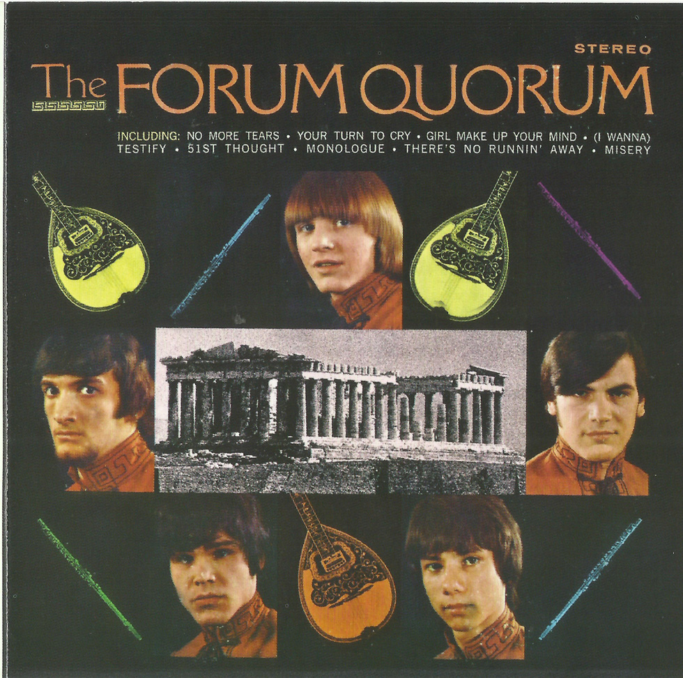 The Forum Quorum - The Forum Quorum  1968 us  enjoyable pop psych with    Quorum Greek