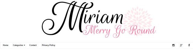 Tempahan Design Blog Miriam Merry Go Round
