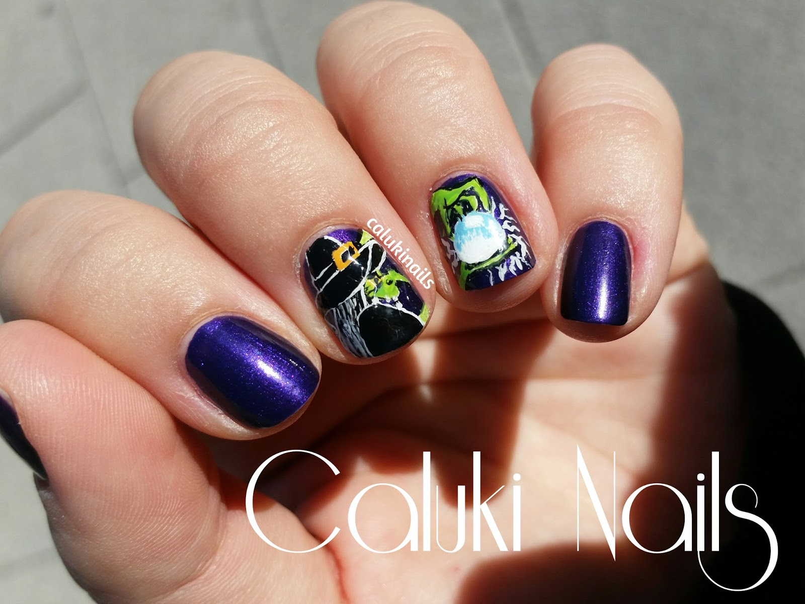 Caluki Nails : Nail art Bruja | # ...
