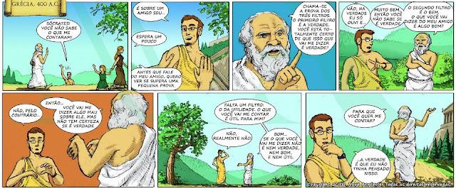 Tirinha Sócrates
