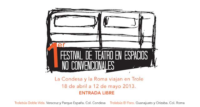 1er. Festival de Teatro en Espacios No Convencionales