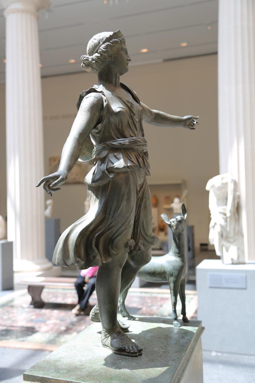 大都会博物馆雕塑