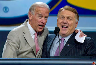 Biden and Hoffa in Las Vegas