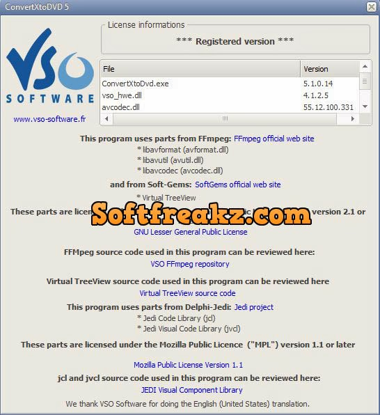VSO ConvertxtoDVD 5.1.0.14 Full With Crack Screen 2