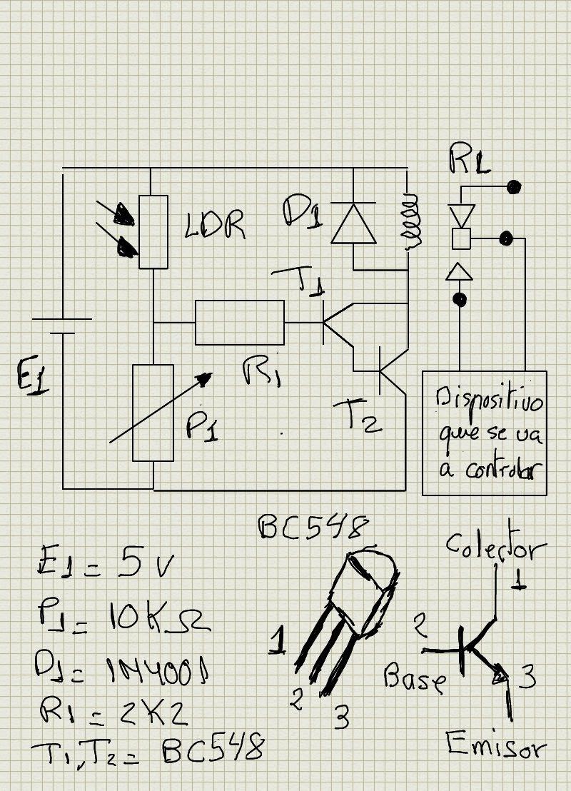 Circuito Electronico : Proyectos de tecnologÍa cÓmo construir un circuito impreso
