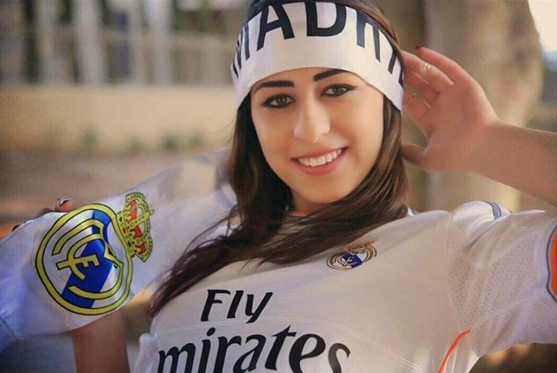 Cantik Fans Madridfans Madrid Cewekwanitafoto Wanita Cantik Fans