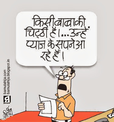 onion price, common man cartoon, price hike, dearness cartoon, daily Humor, political humor