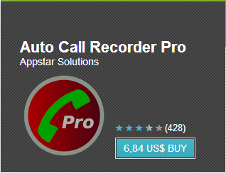 Automatic Call Recorder Pro v4.11 APK Free Download