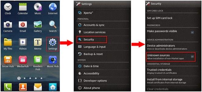 Cara Install Aplikasi selain dari Play Store