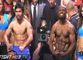 PACQUIAO  vs. BRADLEY 2  FULL  WEIGH  IN!