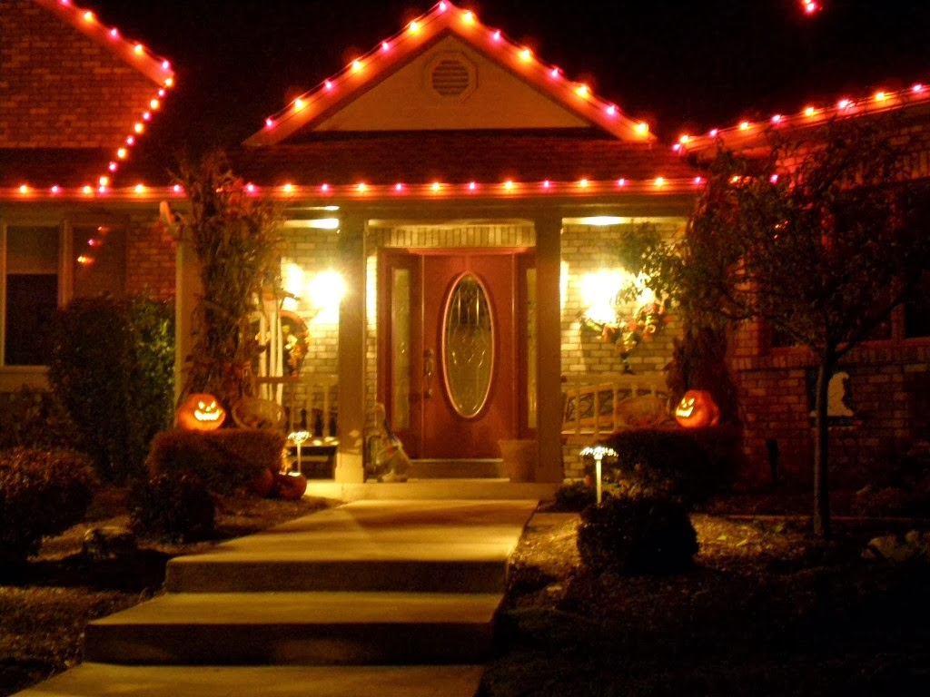 Halloween Decorations Outdoor Lighting