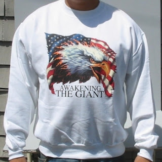Buy an Awakening The Giant White Sweat Shirt