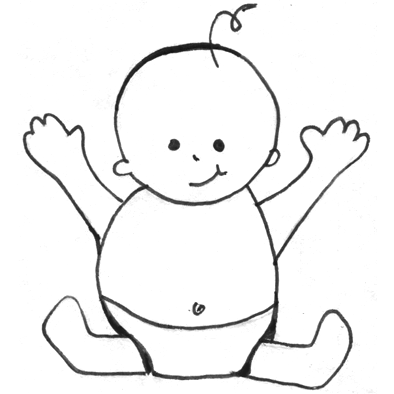Easy Baby Drawings Images & Pictures - Becuo