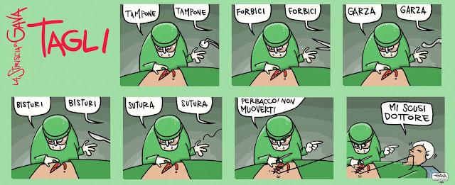 Yanez, Pubblico Gava Satira gavavenezia gavavenezia.it tagli alla sanità