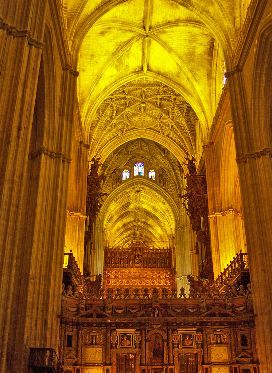 Seville A Famous Gothic Cathedral