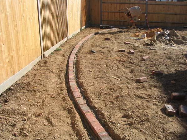Garden Bricks For Edging : Brick box image garden edging