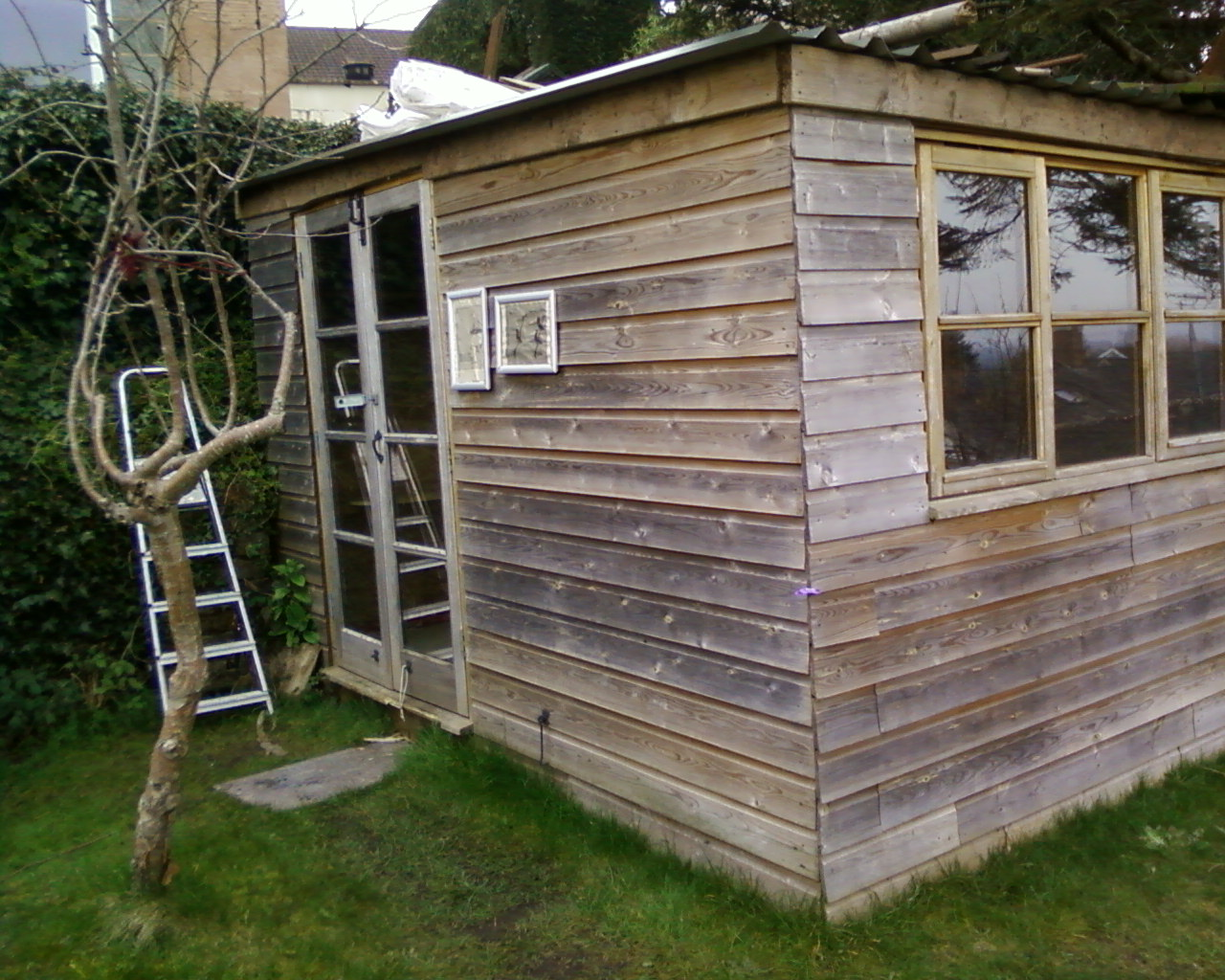 Dorkythorpy how to build a garden office for Build an office in your garden