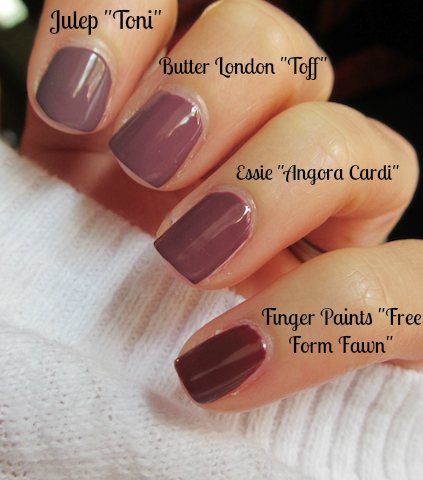 Butter London Essie Julep Finger Paints Nail Polish