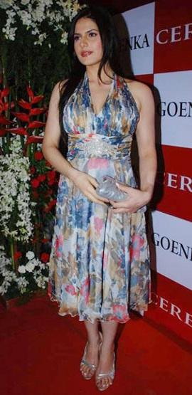 Beautiful Indian Actress Zarine Khan