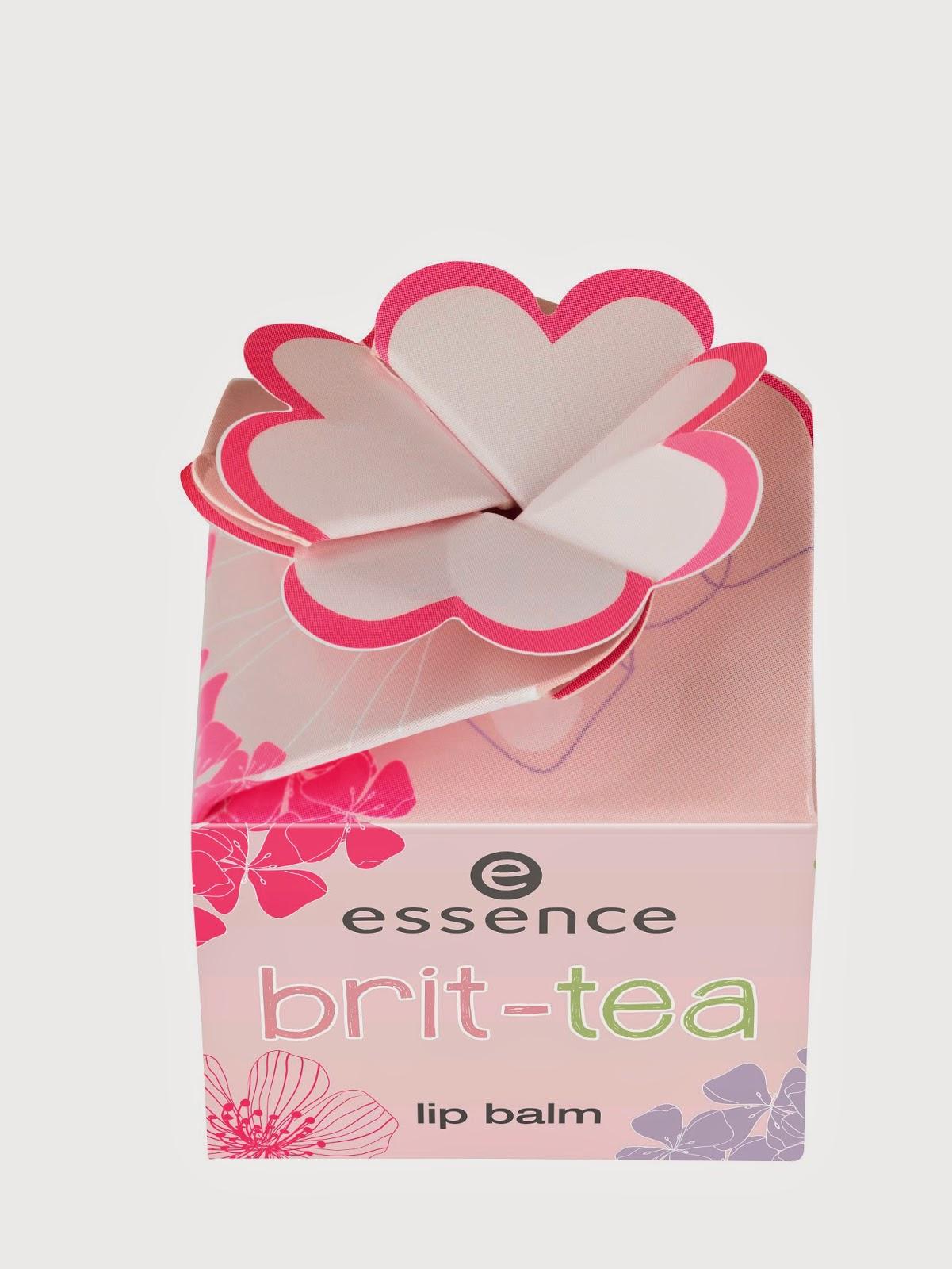essence brit-tea – lip balm - www.annitschkasblog.de