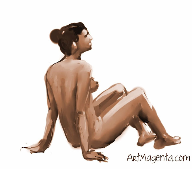 Figure drawing from ArtMagenta